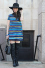 Coach-boots-missoni-for-target-dress-marciano-hat-cc-skye-bracelet