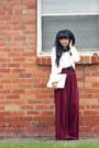 White-disko-gingerbread-shop-jacket-ivory-no-name-purse