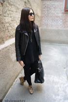 Tommy Hilfiger Denim jacket - GINA TRICOT leggings - H&M bag