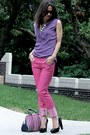 Diesel-jeans-hugo-boss-purse-banana-republic-blouse-charles-jourdan-pumps