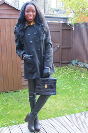 Dorothy Perkins coat - H&amp;M pants