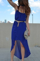Zara dress - American Apparel bag - American Apparel belt - francescas necklace
