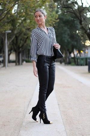 Zara shirt - Mango blazer - Promod pants