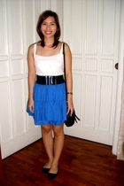 Topshop top - H&M skirt - Charlotte Russe - Mango