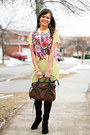 Nine-west-boots-mendocino-dress-kate-spade-bag