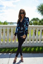 Kardashian Kollection blazer - 7 for all mankind jeans - Zara heels