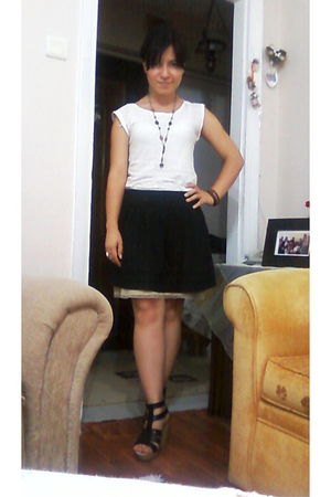 River Island top - Topshop skirt - Mango top