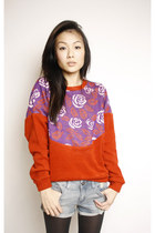 Red-swaychiccom-sweater