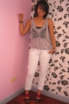 top - Zara jeans - shoes