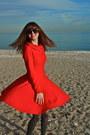 Red-asos-dress-silver-simply-vera-by-vera-wang-tights