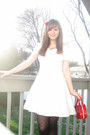 White-roberta-dress-black-american-eagle-tights-red-tommy-hilfiger-purse-r
