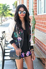 Black-ankle-strap-asos-shoes-black-embroidered-missguided-jacket