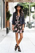 black floral Sway Chic dress
