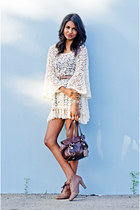 cream daisy lace Gypsy Junkies dress