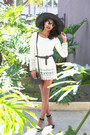 Cream-crochet-umgee-usa-dress