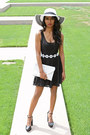 Black-daisy-charlotte-russe-dress