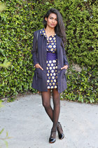 navy polka dot Marc Jacobs dress