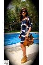 Reiss dress - Zara boots - Mulberry Alexa purse