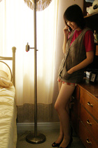 American Apparel t-shirt - Charlotte Russe vest - Forever21 shorts - Target shoe