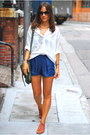 Ivory-zara-shirt-teal-ps1-bag-blue-zara-shorts-navy-prism-glasses