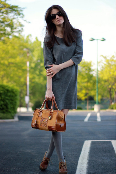 Club Monaco dress - loewe bag