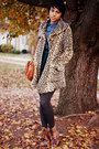 Beige-cheetah-print-forever-21-coat