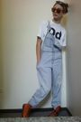 Moms-old-overalls-jeans-doc-martens-boots-american-apparel-t-shirt-target-