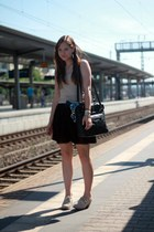 Deichmann shoes - my moms bag - Zara top - Primark skirt
