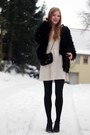 Deichmann-boots-hm-dress-secondhand-bag