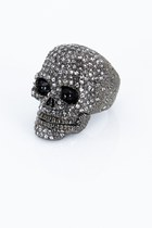Skull Ring Ring Violet Boutique Rings