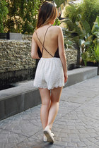 6 Shore Road romper - Chanel flats