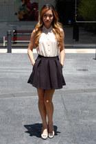 textured skater Topshop skirt - Topshop romper
