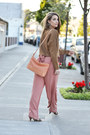 Light-orange-forever-21-pants