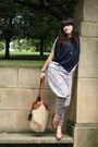 Blue-ebay-pants-brown-ebay-shoes-gray-topshop-top-beige-h-m-bag-silver-c
