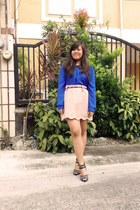 blue The Ramp top - dark gray Charles and Keith shoes
