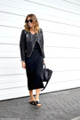 Aritzia-dress-h-m-jacket