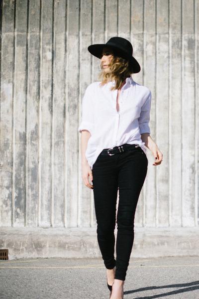 Zara shirt - asos hat