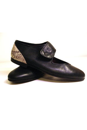 black Lauro Righi shoes