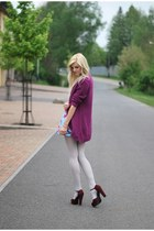 BPC selection cardigan - Goddiva dress - F&F heels - VJ Style bracelet