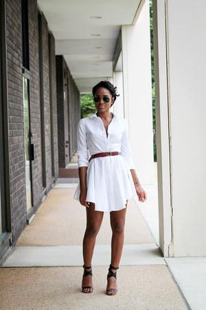 black Tibi heels