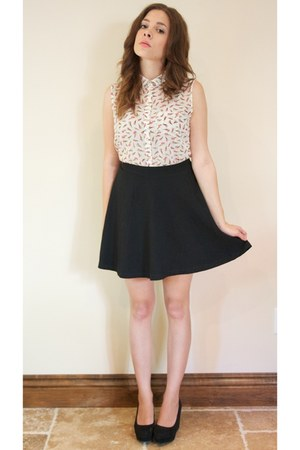 Topshop skirt - Topshop blouse