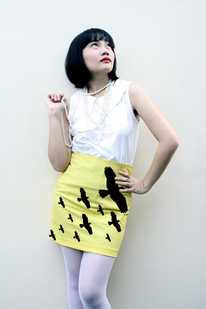 Revenge Fork skirt - Bayo top