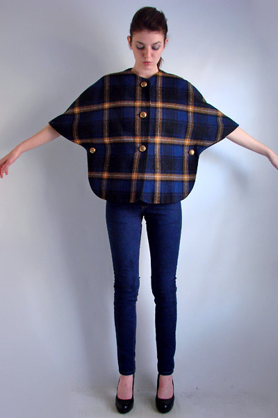 blue vintage jacket