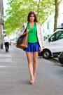 Beige-trench-burberry-coat-green-zara-shirt-green-jeva-jewels-necklace