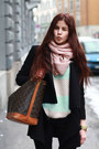 Black-anna-field-boots-black-spliced-coat-louis-vuitton-bag
