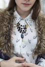 Owl-pattern-choies-shirt-leather-motel-rocks-skirt-jeva-jewels-necklace