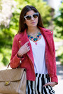 Gold-michael-kors-watch-ruby-red-suede-mango-jacket