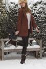 Cream-h-m-hat-dark-brown-hub-boots-brown-vintage-blazer-neutral-h-m-top