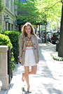 Tan-forever-21-jacket-camel-jcrew-sweater-off-white-j-crew-skirt