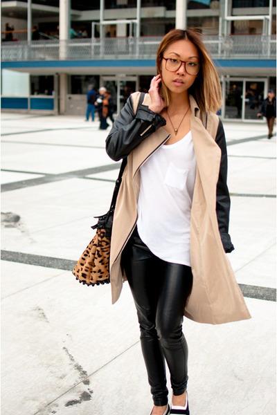 tan AlexanderWangcom purse - tan yesstylecom jacket